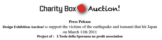 charity box auction